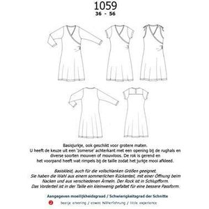 Jurk-shirt-top 1059 - It's a fits