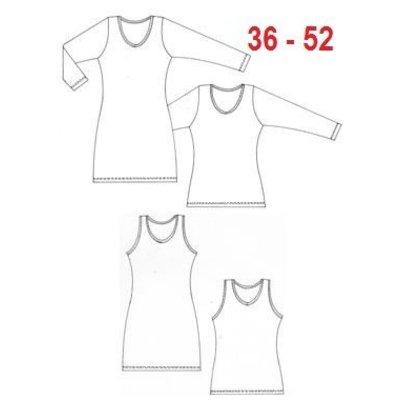 Jurk-top-shirt 1003 - It's a fits