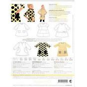 Patroon - Minikrea: A-lijn jurkje