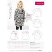 Patroon - Minikrea: T-shirtjurk (1,5 - 3 jaar)