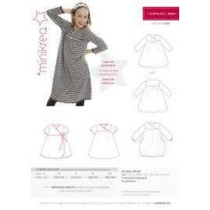 Patroon - Minikrea: T-shirtjurk (4 - 10 jaar)