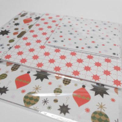 Origamipapier - kerstmis
