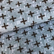 Tricot - Megan Blue Fabrics - Black & Blue