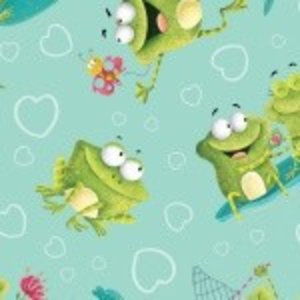 Katoen - Henry Glass - Frogland Friends