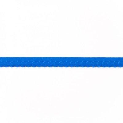 Elastisch biais de luxe - kobaltblauw