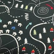 Timeless Treasures Katoen - Timeless Treasures - Camping Map