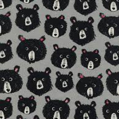 Cotton & Steel Katoen - Cotton & Steel - Sarah Watts - Teddy & the bears