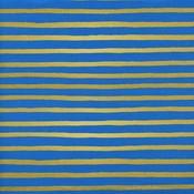 Cotton & Steel Katoen - Cotton & Steel - Rifle Paper Co - Wonderland Stripes