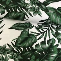 Swafing Tricot - Digital - Botanical print dark