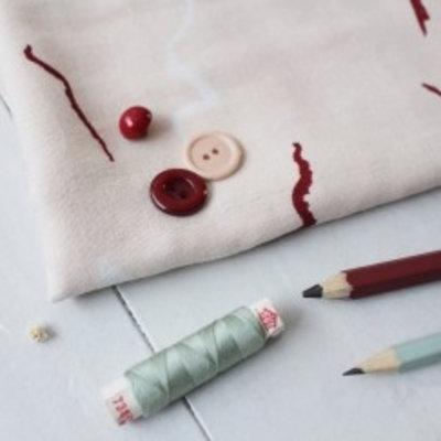 Atelier Brunette Double Gauze - Atelier Brunette - Graphite Rose