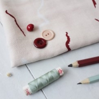 Atelier Brunette - Double Gauze - Graphite Rose