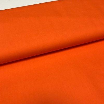 Effen katoen - oranje