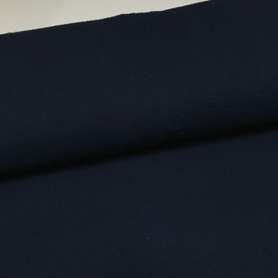 Double Gauze - Navy