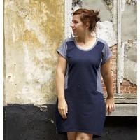 Compagnie M Patroon -  Compagnie-M: Nore Jurk en t-shirt dames