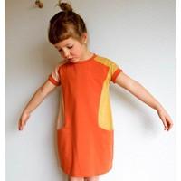 Compagnie M Patroon -  Compagnie-M: Nore Jurk en t-shirt girls