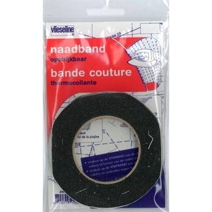 Vlieseline - Naadband zwart