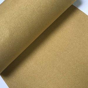 Boordstof - glitter geel-goud