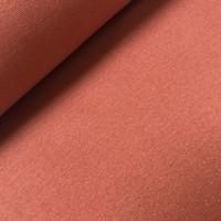 Boordstof - glitter koper-brons