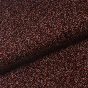 Jacquard - zwart/rood
