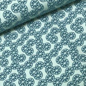 Megan Blue Fabrics Tricot - Citrus Light Old Green