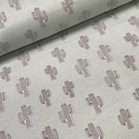 Megan Blue Fabrics Tricot - Cactus Mint