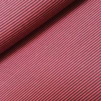 Viscosetricot - Hilco - Filigrano rood/zwart