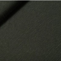 Viscosetricot - Hilco - Filigrano groen/zwart