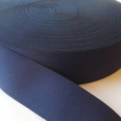 Elastische tailleband - donkerblauw (3,80 cm)