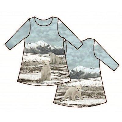 Tricot - Stenzo - paneel ijsbeer