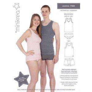 Minikrea Ondergoed voor hem & haar (XS-XXL) - Patroon - Minikrea