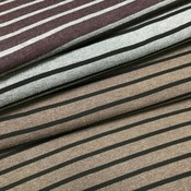 Viscosetricot - Belfort Bordeaux/grijs