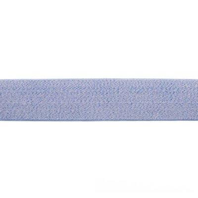 Elastische tailleband - Blauw mélange (3,80 cm)