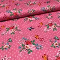 Katoen - Swallows Roze