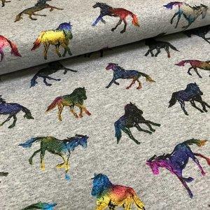 Sweater Shiny Foil Horses