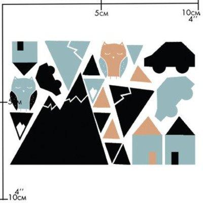Nuukk porseleinsticker - Little Town