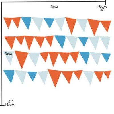 Nuukk porseleinsticker - Little Flags