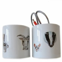 Nuukk porseleinsticker - Animals