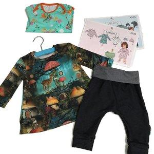 Babykleertjes in tricot (vrijdagochtend in januari)