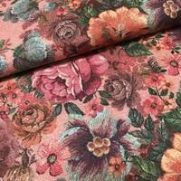 Viscose crêpe - Pink flowers