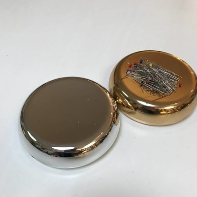 Magnetisch Speldendoosje Zilver