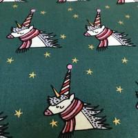 Katoen - Eenhoorn Magical Christmas