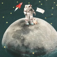 Tricotpaneel - Astronaut