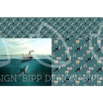 Tricotpaneel - Shark Attack