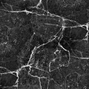 French Terry - About Blue Fabrics - Black Marble