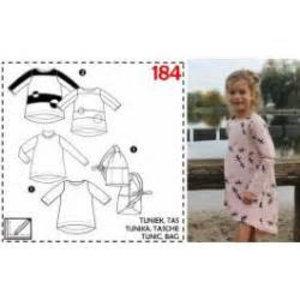 Patroon - Tuniek voor kinderen 184