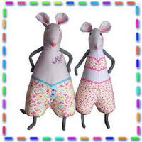 Naaikit - Meneer en mevrouw muis