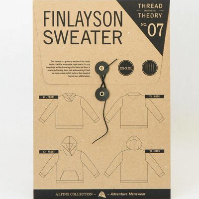 Patroon - Finlayson sweater (Thread theory - pdf-patroon)