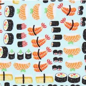 Timeless Treasures Katoen - Timeless Treasures - Sushi