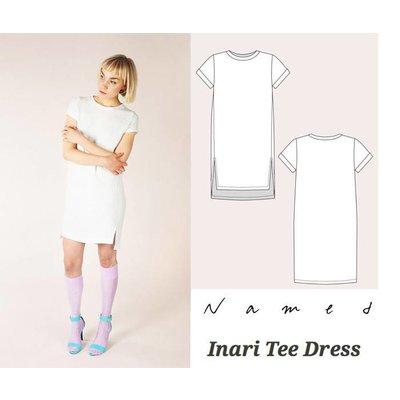 Tee dress & Crop Tee (Inari -Named)