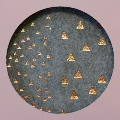 Lotte Martens - Ritstas - Vilt met driehoekjes